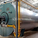 6MW YQW gas-fired thermal fluid heater for chemical industry