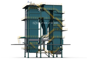 CFB (circulating fluidized bed) coal-fired steam boiler