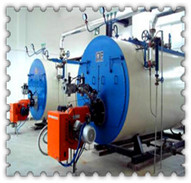combined oil gas fired condensing water boiler supplier in